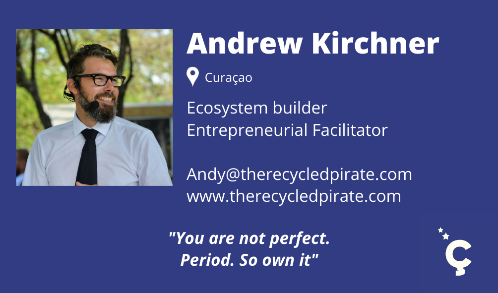 Andy Kirchner The Recycled Pirate Facilitator for Innovation Ç